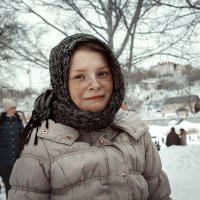 Даша. Зимний портрет. :: Артемий Кошелев