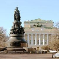 Памятник Екатерине II. Санкт-Петербург :: elena manas