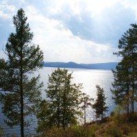Озеро в Миассе :: Ольга Юртаева