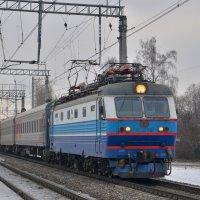 Электропоезд ЧС2К-857 :: Денис Змеев
