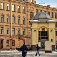 Храм-часовня св. вмч. Иоанна Нового Сочавского на Сенной. :: Юрий Тихонов
