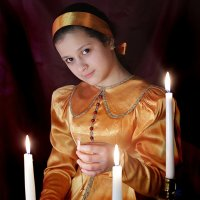 Девушки гадали :: Юлия Емелина