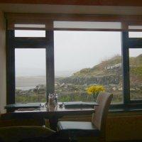Ненастным днём в кафе у моря :: Natalia Harries