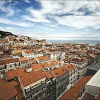 Лиссабон с обзорной площадки :: Ирина Лепнёва