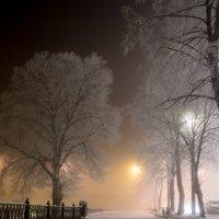 морозный вечер :: Николай Буклинский