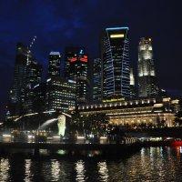 Ночной Сингапур. :: Елена Савчук