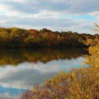Осень на реке :: Евгений Замковой
