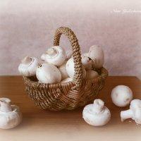 Корзинка с грибами :: Nina Yudicheva