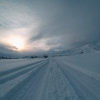 Заснеженный путь :: Анзор Агамирзоев