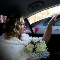НЕвеста в авто :: Максим Габбасов