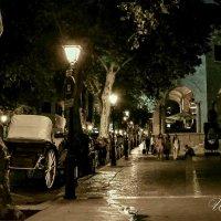 Ночь на бульваре платанов :: Ирина Falcone