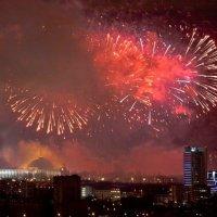 Праздничная Москва :: Сергей Ру