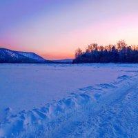 Ледяная дорога :: Анатолий Иргл