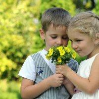Детская дружба :: Инна Юшко
