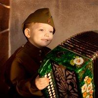 Юный гармонист :: Дарья Руденко