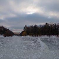 Зимний пейзаж на льду :: Zifa Dimitrieva