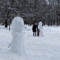 Снеговики :: Вера Щукина