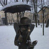 Тот самый Петербургский ангел... Очень трогательный :: Елена Павлова (Смолова)