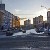 Москва. Проспект Сахарова. :: Ирина Нафаня