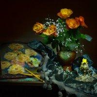 Нарисую розы... :: Валентина Колова