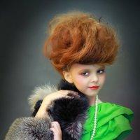 Лиза - маленькая модель :: Светлана Трофимова