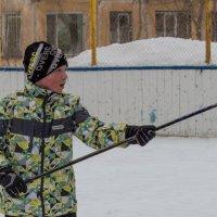 дворовый хоккей :: Наталья Литвинчук
