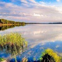 На Кёршинском водохранилище .Тамбовщина. :: Александр Тулупов
