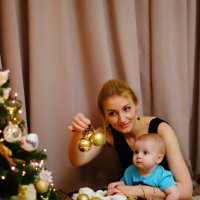 Катя и ее сын :: Анастасия Сидорова