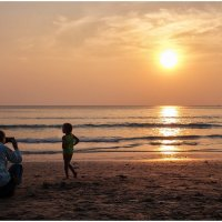 Закат на о. Ко Чанг, Таиланд :: Ирина Абрамова