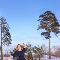 Мороз и солнце... :: Валерий Бочкарев