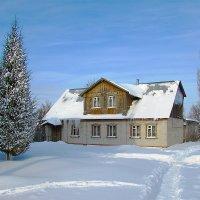 Дом с сосульками :: Canon PowerShot SX510 HS