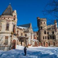 дворец реставрируют,охраняется :: Сергей Цветков