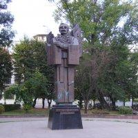 Памятник  Юрию  Федьковичу  в  Черновцах :: Андрей  Васильевич Коляскин