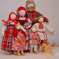 Кукольная вечёрка :: Елена Третьякова