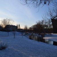 Под белым покрывалом февраля. :: zoja