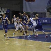 Баскетбол женщины Динамо Москва vs Динамо Курск :: Александр Аксёнов