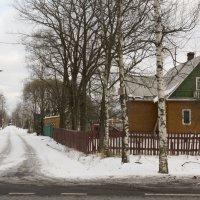 В зимнем посёлке :: Aнна Зарубина