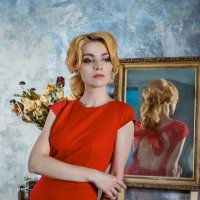 Lady in red :: Марина Фадеева