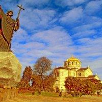 Апостол Андрей и Кафедральный Владимирский собор :: Дядюшка Джо