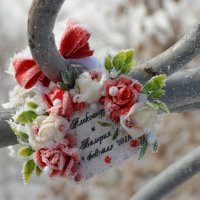 Замочек влюбленных вступивших в брак :: Сергей Тагиров