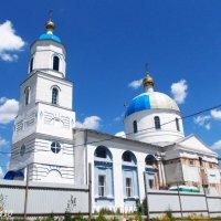 Церковь Успения Пресвятой Богородицы (идёт реставрация) :: Нина Бутко