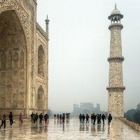 Мавзолей-мечеть Тадж-Махал, вход в усыпальницу :: Виктор Куприянов