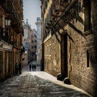 Утро в Барселоне :: Анна Корсакова
