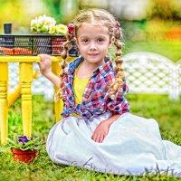 Во саду ли :: Аминат Спасская