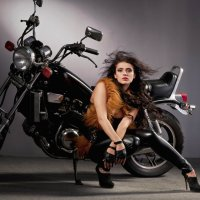 Moto Girl :: Марина Фадеева