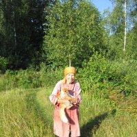 С любимым котом :: Андрей Снегерёв