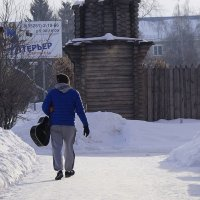 Февральский менестрель :: A. SMIRNOV