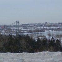 Город зимой. :: Андрей