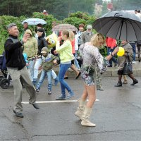 Ах эти танцы под дождём. :: bemam *