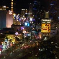 Лас Вегас ночью. :: Алена Торопов